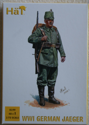 HaT 1/72 HAT8199 German Jaeger (WW1)